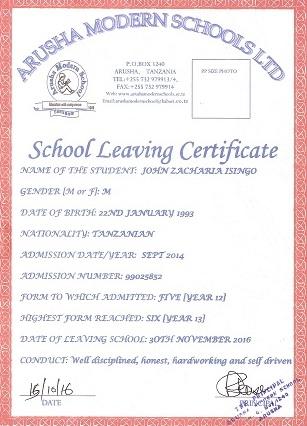 John Diploma 2